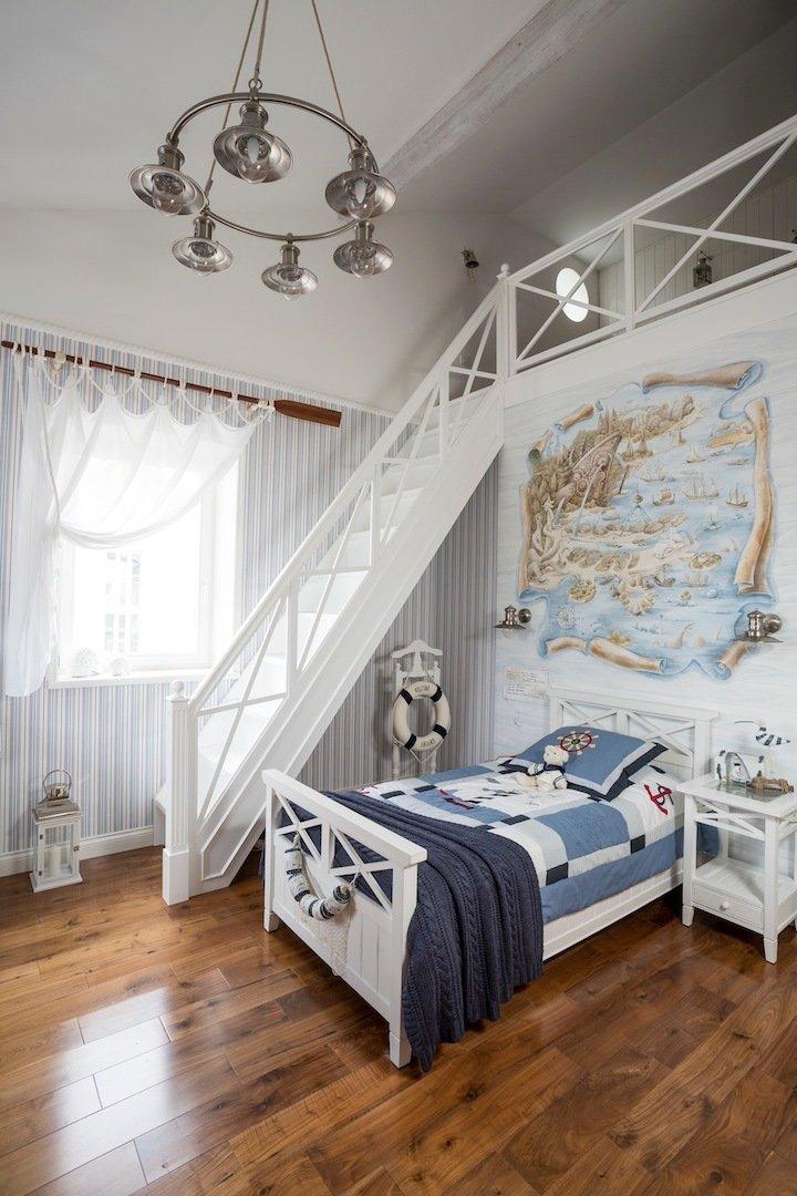 Фотография: Детская в стиле Прованс и Кантри, Дом, Дома и квартиры – фото на INMYROOM