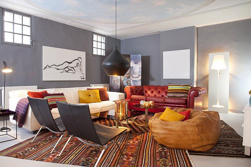 Фотография: Гостиная в стиле Скандинавский, Современный, Эклектика, Квартира, Дома и квартиры, Стокгольм – фото на INMYROOM