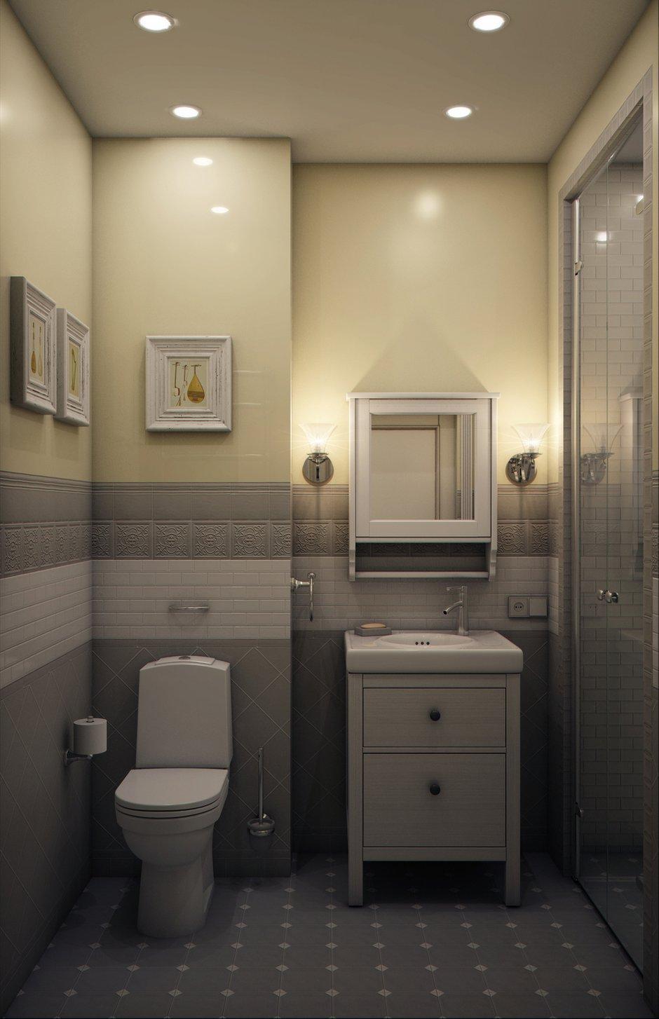 Фотография: Ванная в стиле Классический, Эклектика, Квартира, Проект недели, Марина Саркисян, Подмосковье – фото на INMYROOM