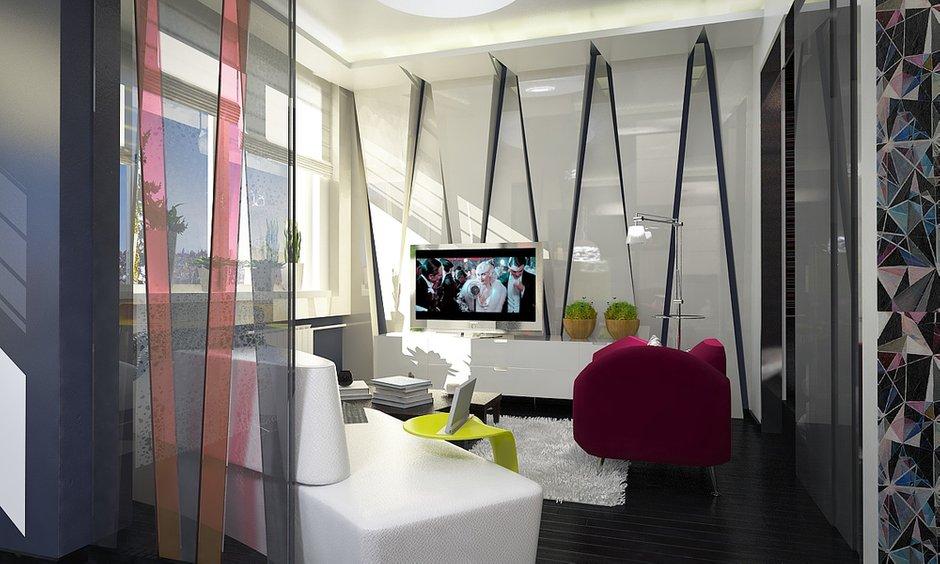 Фотография: Гостиная в стиле Современный, Квартира, BoConcept, Дома и квартиры, IKEA, Москва, Dulux – фото на INMYROOM