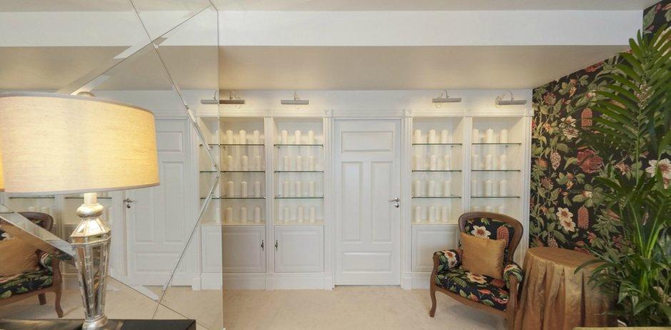 Фотография: Гостиная в стиле Классический, Современный, Интерьер комнат, Проект недели, Переделка – фото на INMYROOM