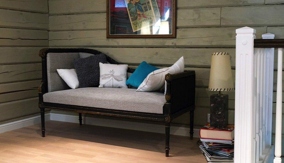 Фотография: Мебель и свет в стиле Прованс и Кантри, Дом, Дома и квартиры, Проект недели, Дача, dom-iz-brusa – фото на INMYROOM