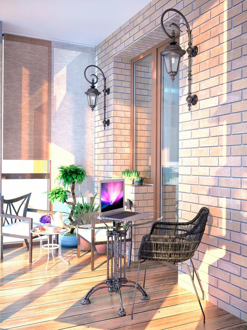 Фотография: Балкон, Терраса в стиле Современный, Декор интерьера, Квартира, Дома и квартиры, Проект недели, SLV – фото на INMYROOM