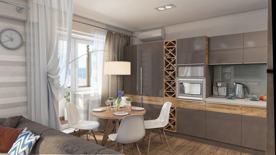 Фотография: Кухня и столовая в стиле Современный, Декор интерьера, Квартира, Дома и квартиры, Проект недели, Ligne Roset – фото на INMYROOM