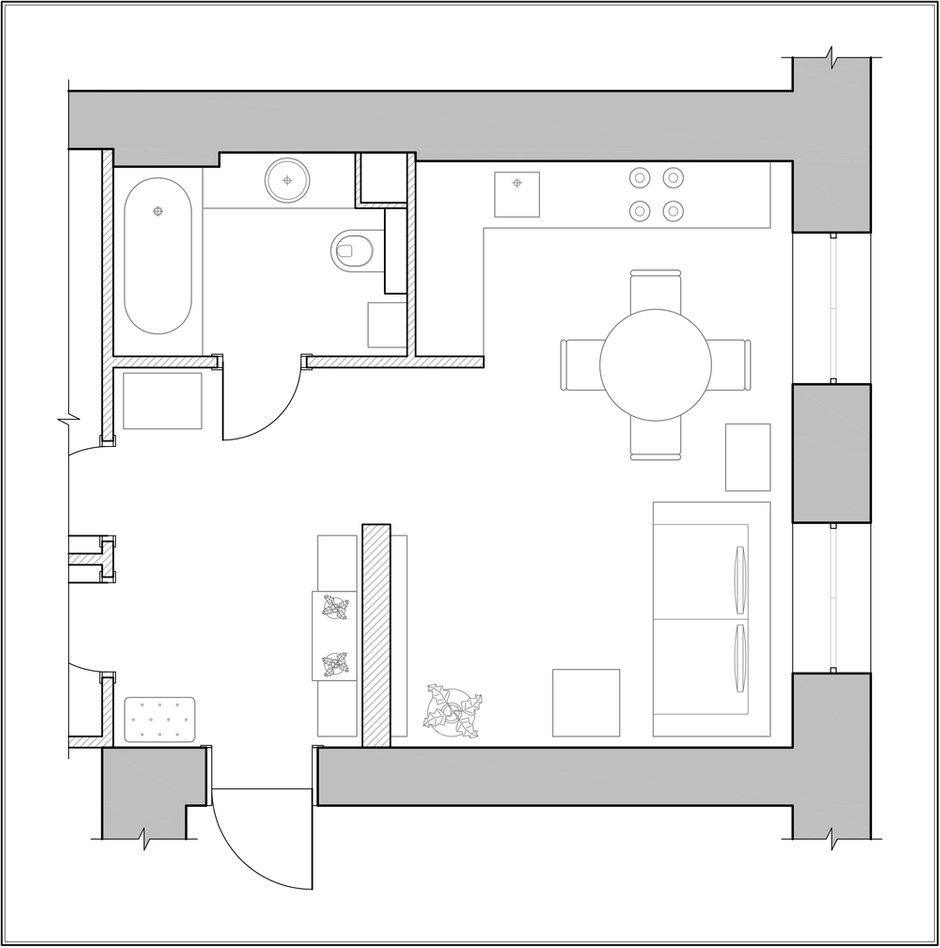 Фотография: Планировки в стиле , Декор интерьера, Квартира, Декор дома – фото на INMYROOM