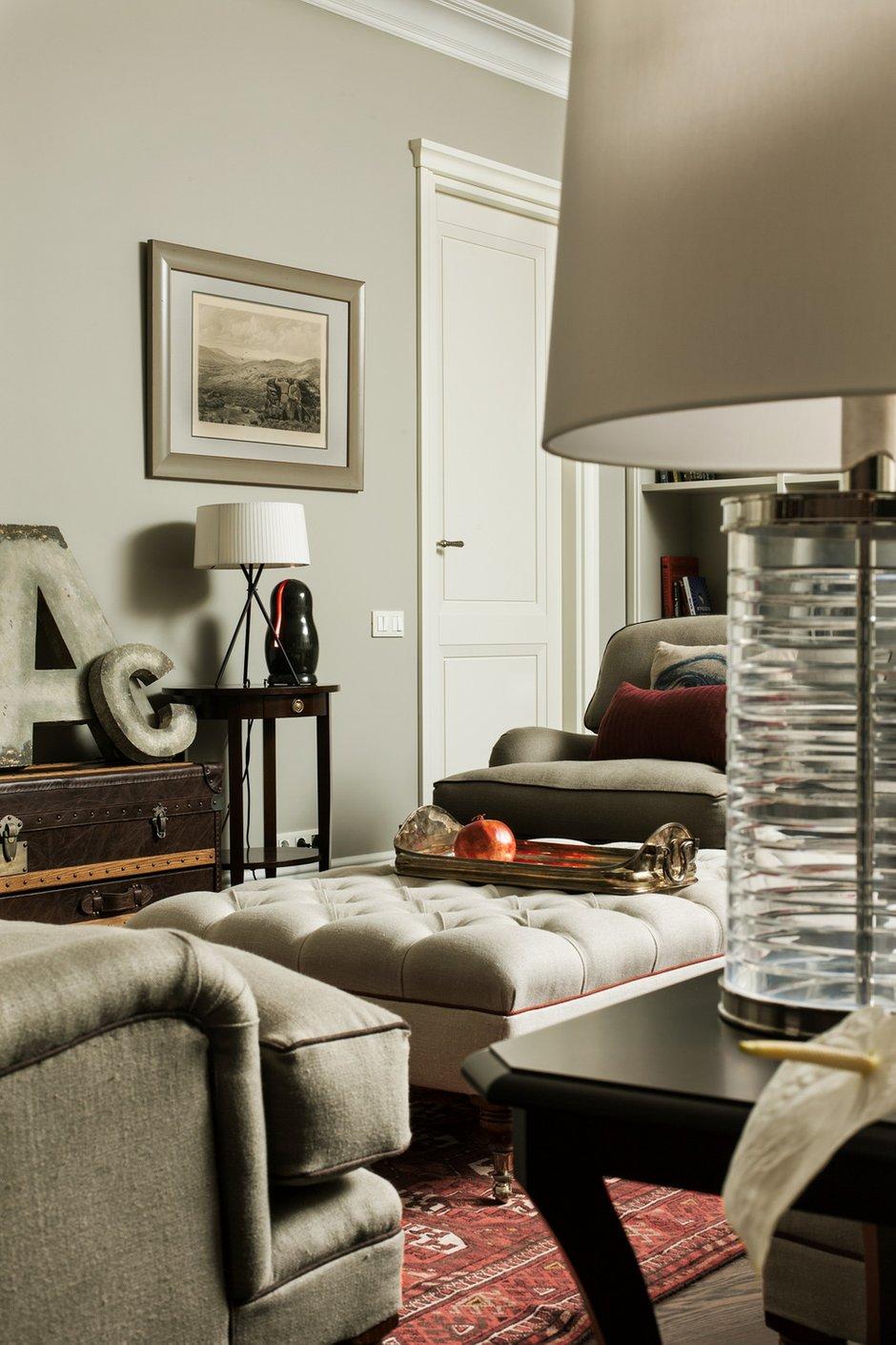 Фотография: Гостиная в стиле Современный, Эклектика, Квартира, Дома и квартиры – фото на INMYROOM