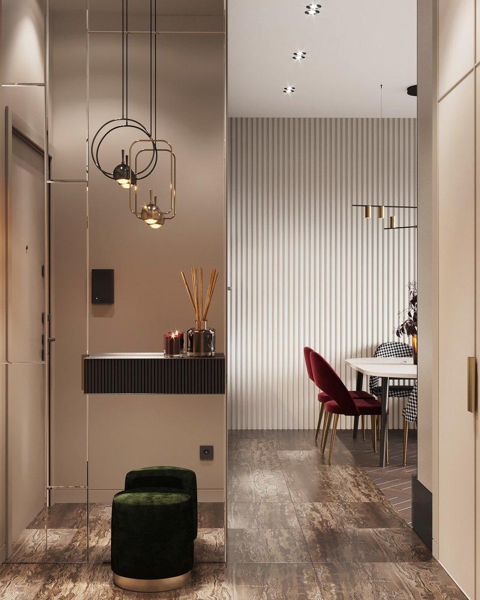 Фотография: Прихожая в стиле Современный, Квартира, Проект недели, Москва, Монолитный дом, 2 комнаты, 40-60 метров, Руслан Просвирин – фото на INMYROOM