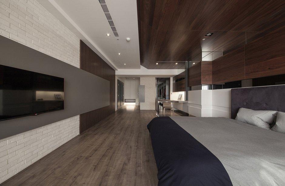 Фотография: Спальня в стиле Современный, Дом, Дома и квартиры, Проект недели – фото на INMYROOM