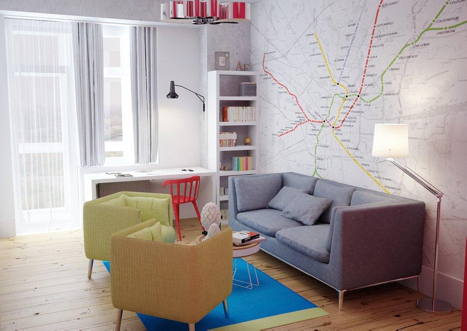 Фотография: Детская в стиле Лофт, Скандинавский, Квартира, Дома и квартиры, IKEA, Проект недели – фото на INMYROOM