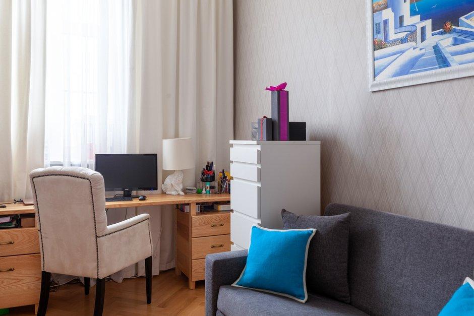 Фотография: Детская в стиле Современный, Квартира, Проект недели, Москва, Кирпичный дом, 2 комнаты – фото на INMYROOM