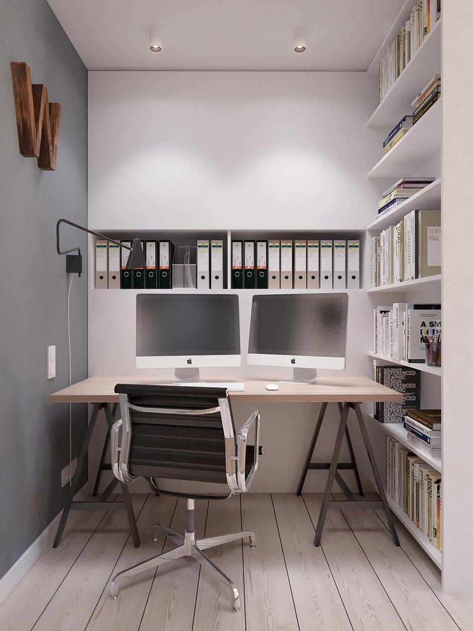 Фотография: Офис в стиле Лофт, Квартира, Дома и квартиры, IKEA, Проект недели – фото на INMYROOM