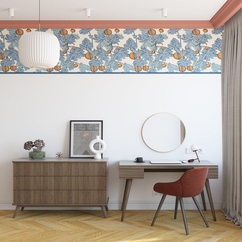 Фотография: Спальня в стиле Современный, Квартира, Проект недели, Москва, OM Design, 2 комнаты, 40-60 метров – фото на INMYROOM