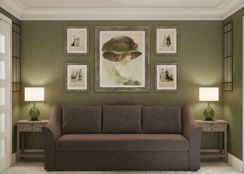 Фотография: Гостиная в стиле , Малогабаритная квартира, Квартира, Дома и квартиры – фото на INMYROOM