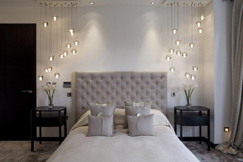 Фотография: Спальня в стиле Современный, Великобритания, Мебель и свет, Цвет в интерьере, Индустрия, Люди, Лондон – фото на INMYROOM