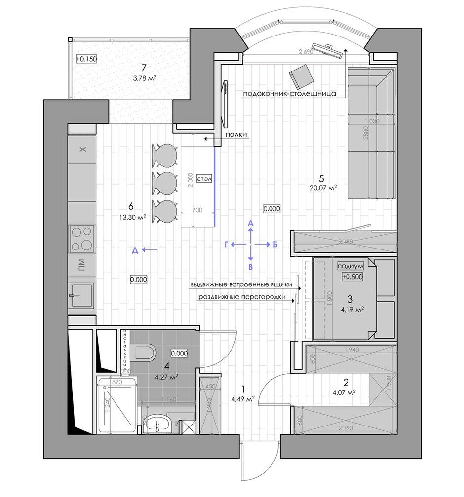 Фотография: Планировки в стиле , Квартира, Дома и квартиры, IKEA, Проект недели, Москва – фото на InMyRoom.ru