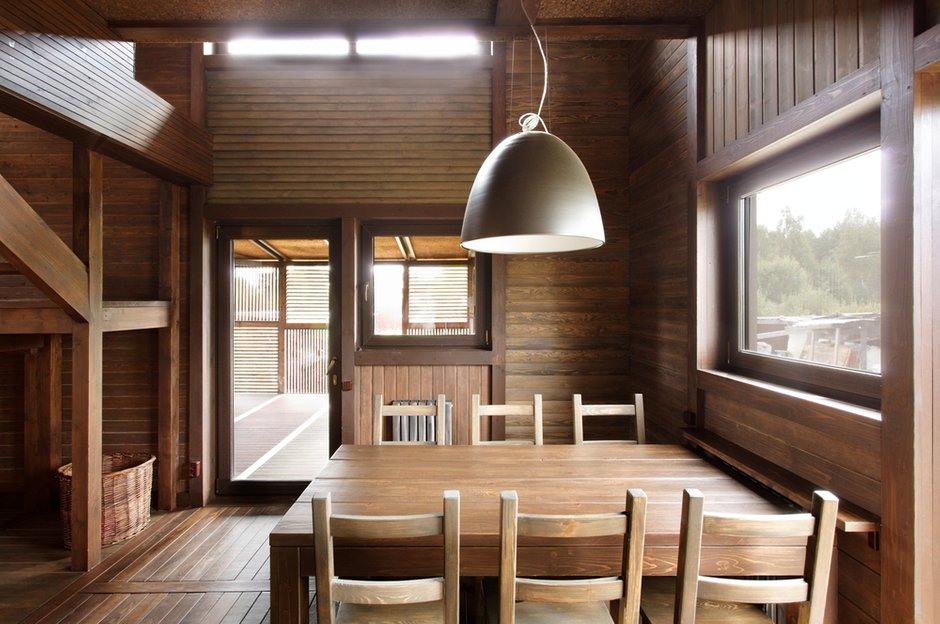 Фотография: Кухня и столовая в стиле , Дом, Дома и квартиры, Проект недели, Дача – фото на INMYROOM