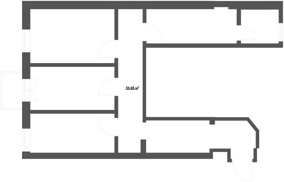 Фотография: Планировки, Прочее в стиле , Классический, Квартира, Дома и квартиры, Проект недели – фото на INMYROOM