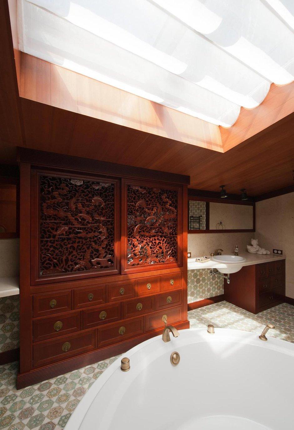 Фотография: Ванная в стиле Восточный, Дом, Дома и квартиры, Проект недели – фото на INMYROOM