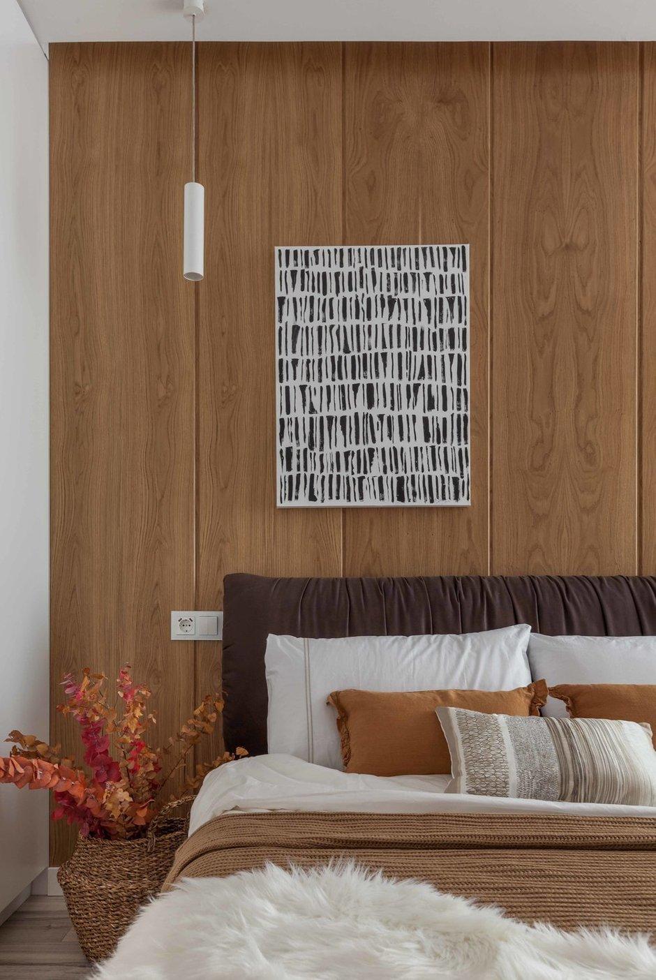 Фотография: Спальня в стиле Современный, Квартира, Проект недели, Минск, 3 комнаты, 60-90 метров, Вероника Зазнова – фото на INMYROOM
