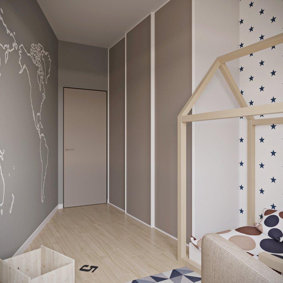 Фотография: Детская в стиле Современный, Квартира, Проект недели, Новая Москва, Артем Габриэльян, Монолитный дом, 4 и больше, 60-90 метров, ЖК «Рассказово» – фото на INMYROOM