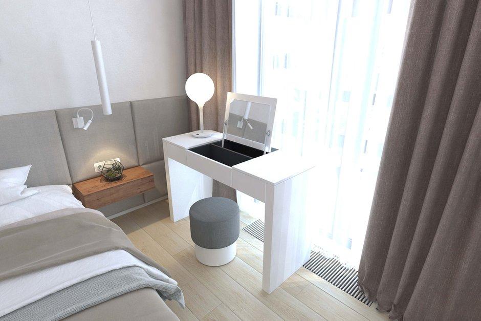 Фотография: Спальня в стиле Современный, Минимализм, Квартира, Проект недели, Geometrium – фото на INMYROOM