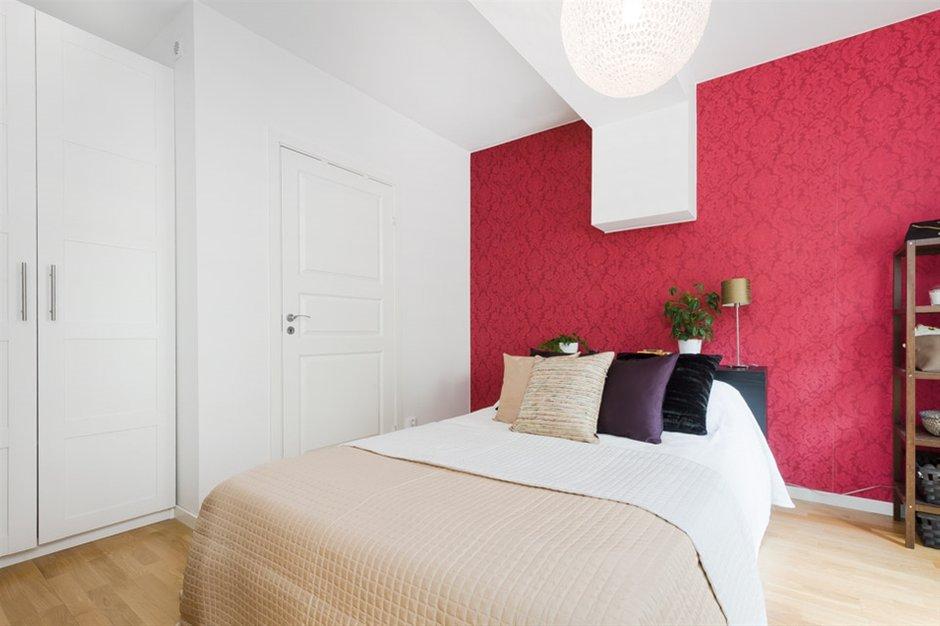 Фотография: Спальня в стиле Скандинавский, Современный, Малогабаритная квартира, Квартира, Дома и квартиры – фото на INMYROOM