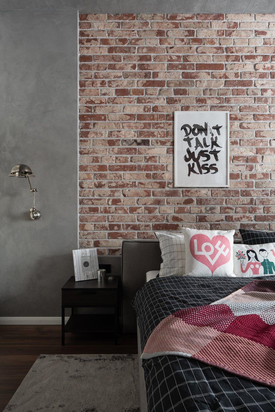 Фотография: Спальня в стиле Лофт, Квартира, Студия, Проект недели, Санкт-Петербург, 40-60 метров, VizDiz – фото на INMYROOM