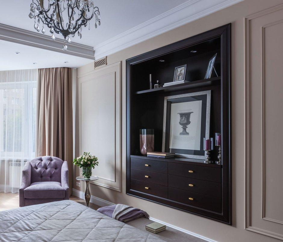 Фотография: Спальня в стиле Классический, Квартира, Проект недели, Москва, Монолитный дом, 4 и больше, Более 90 метров, Анна Максимова, ЖК «Шатер» – фото на INMYROOM