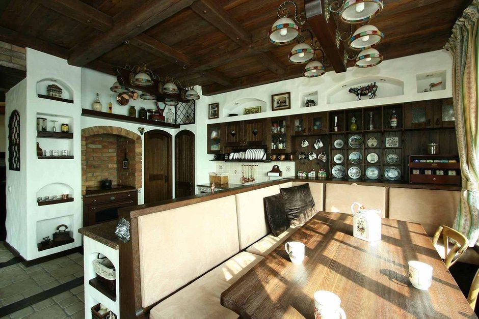 Фотография: Кухня и столовая в стиле Прованс и Кантри, Классический, Современный, Декор интерьера, Дом, Дома и квартиры, Шале, МАРХИ – фото на INMYROOM