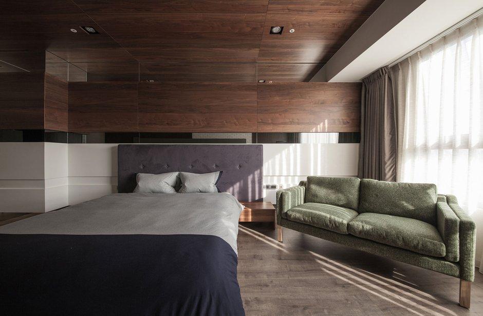 Фотография: Спальня в стиле Лофт, Современный, Дом, Дома и квартиры, Проект недели – фото на INMYROOM