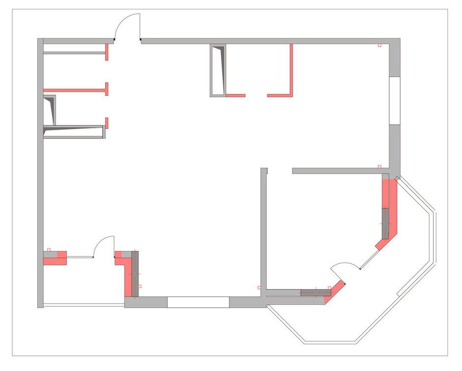 Фотография: Планировки в стиле Скандинавский, Классический, Эклектика, Квартира, Проект недели – фото на INMYROOM