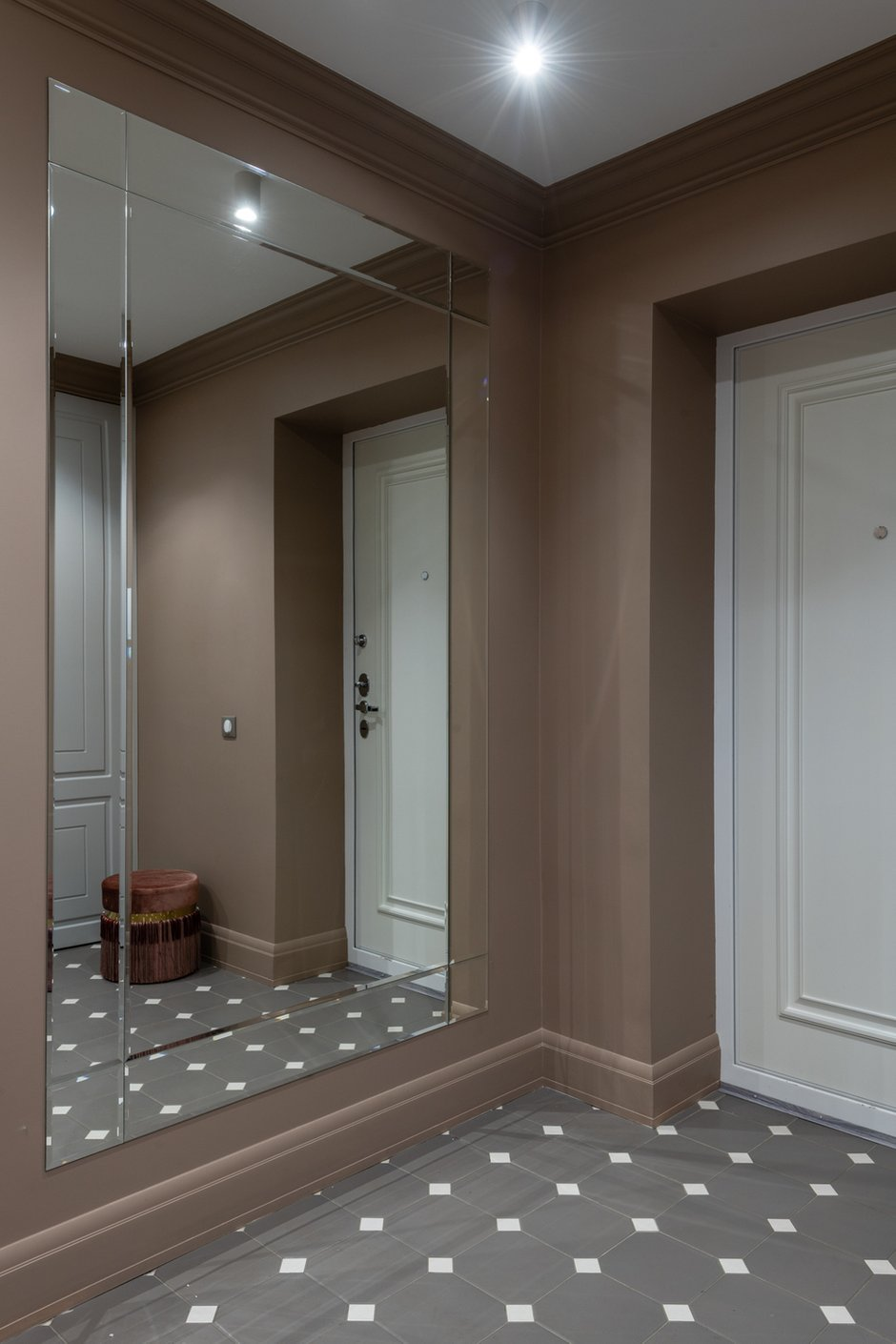 Фотография: Прихожая в стиле Современный, Квартира, Проект недели, Москва, 2 комнаты, 40-60 метров, Анна Моджаро – фото на INMYROOM