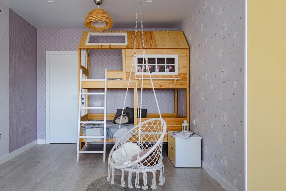 Фотография: Детская в стиле Современный, Квартира, Проект недели, Новосибирск, 3 комнаты, 60-90 метров, Студия 3D, Полина Марченко – фото на INMYROOM