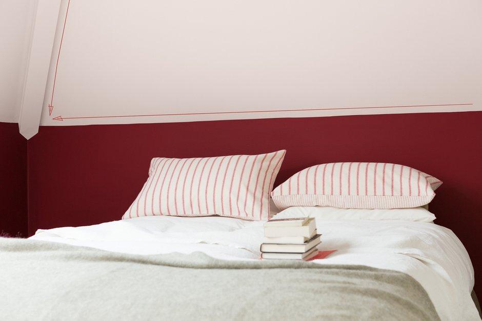 Фотография: Спальня в стиле Современный, Декор интерьера, Дизайн интерьера, Цвет в интерьере, Красный – фото на INMYROOM
