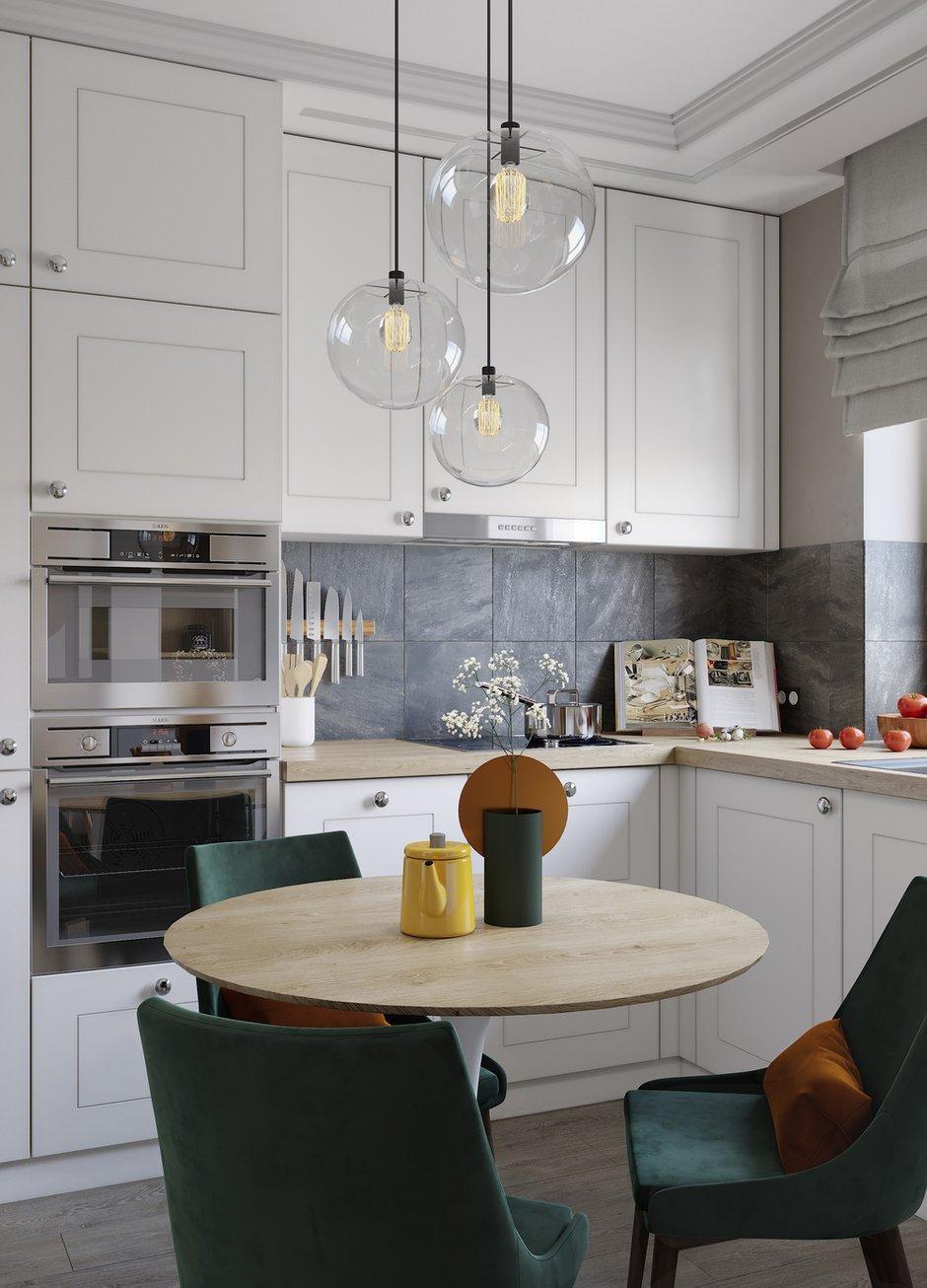Фотография: Кухня и столовая в стиле Современный, Проект недели, ПРЕМИЯ INMYROOM – фото на INMYROOM