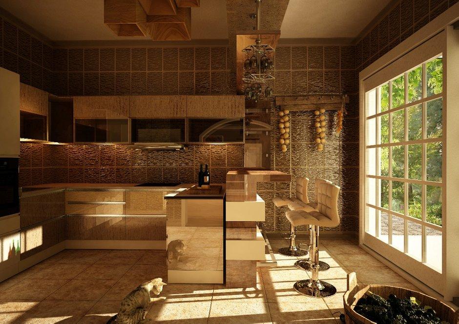 Фотография: Кухня и столовая в стиле Восточный, Дом, Дома и квартиры, Проект недели, Современное искусство – фото на INMYROOM
