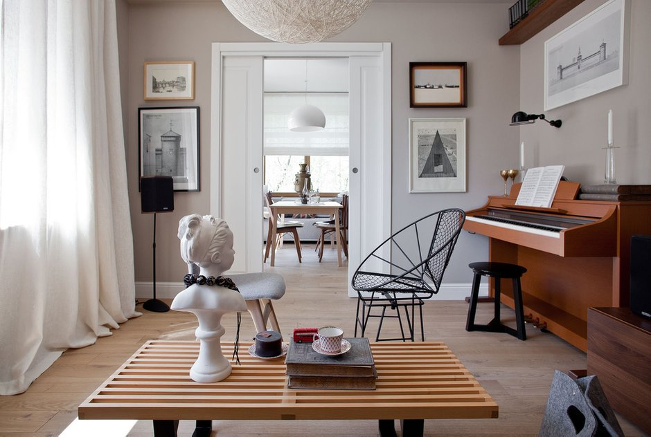 Фотография: Гостиная в стиле Лофт, Квартира, BoConcept, Дома и квартиры, IKEA – фото на INMYROOM