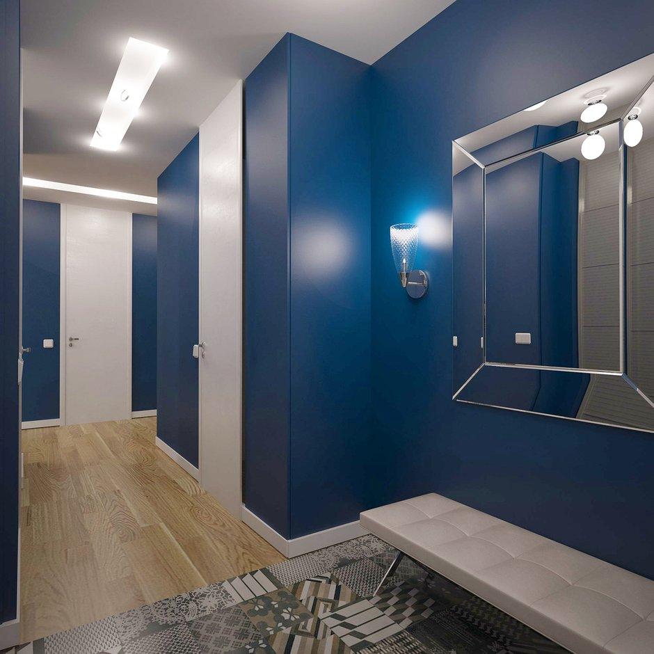 Фотография: Прихожая в стиле , Квартира, Дома и квартиры, Проект недели, Пентхаус – фото на INMYROOM