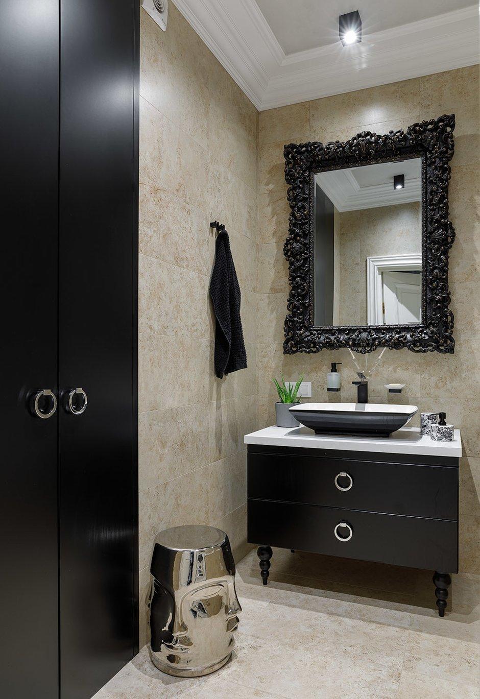 Фотография: Ванная в стиле Классический, Современный, Квартира, Проект недели, Санкт-Петербург, 3 комнаты, Более 90 метров, Кирилл Пономаренко – фото на INMYROOM
