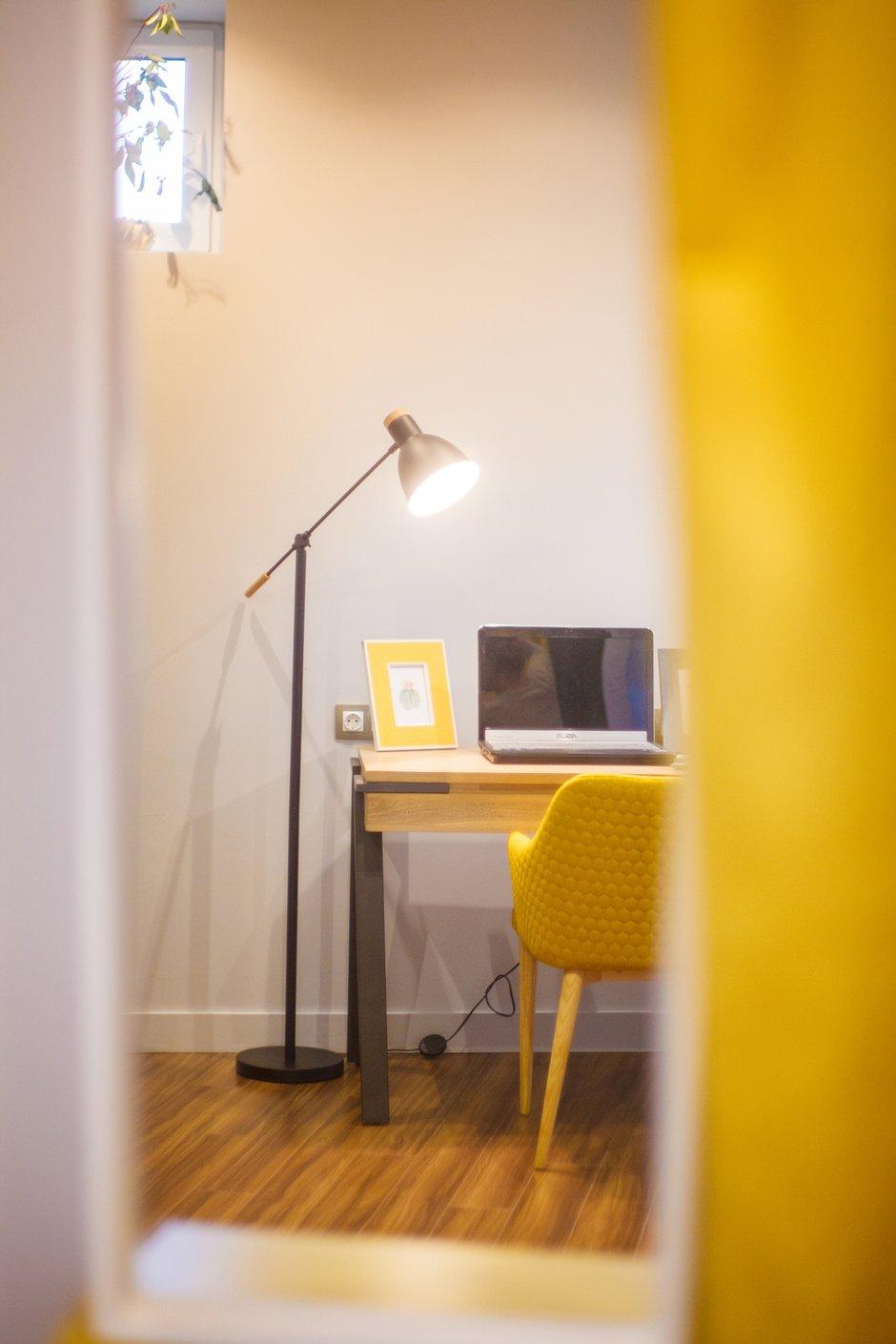 Фотография: Кабинет в стиле Современный, Квартира, Проект недели, Химки, Ануш Аракелян, Монолитный дом, ЖК «Правый Берег» – фото на INMYROOM