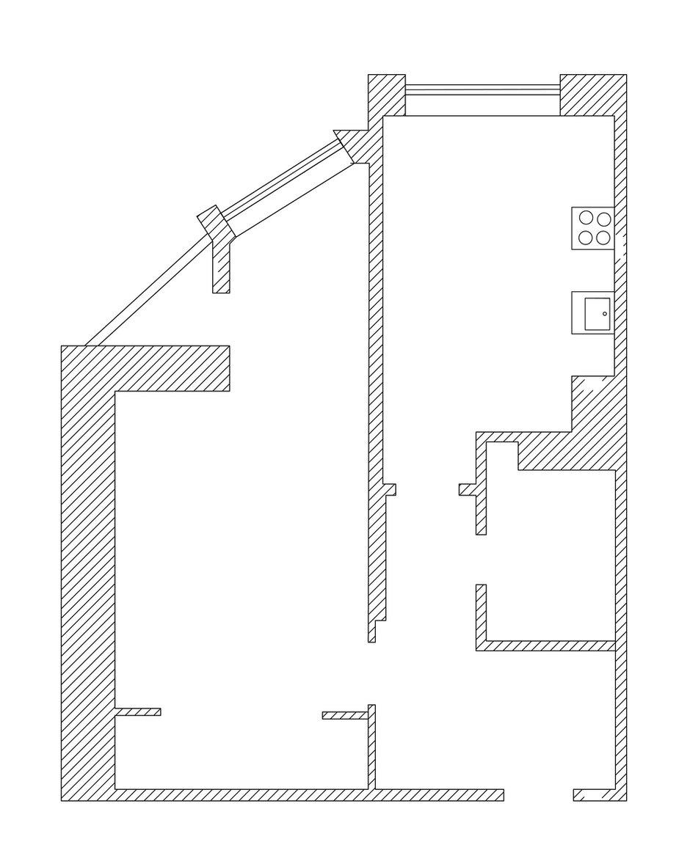 Фотография: Планировки в стиле , Современный, Квартира, Дома и квартиры, IKEA, Минимализм, Проект недели – фото на InMyRoom.ru