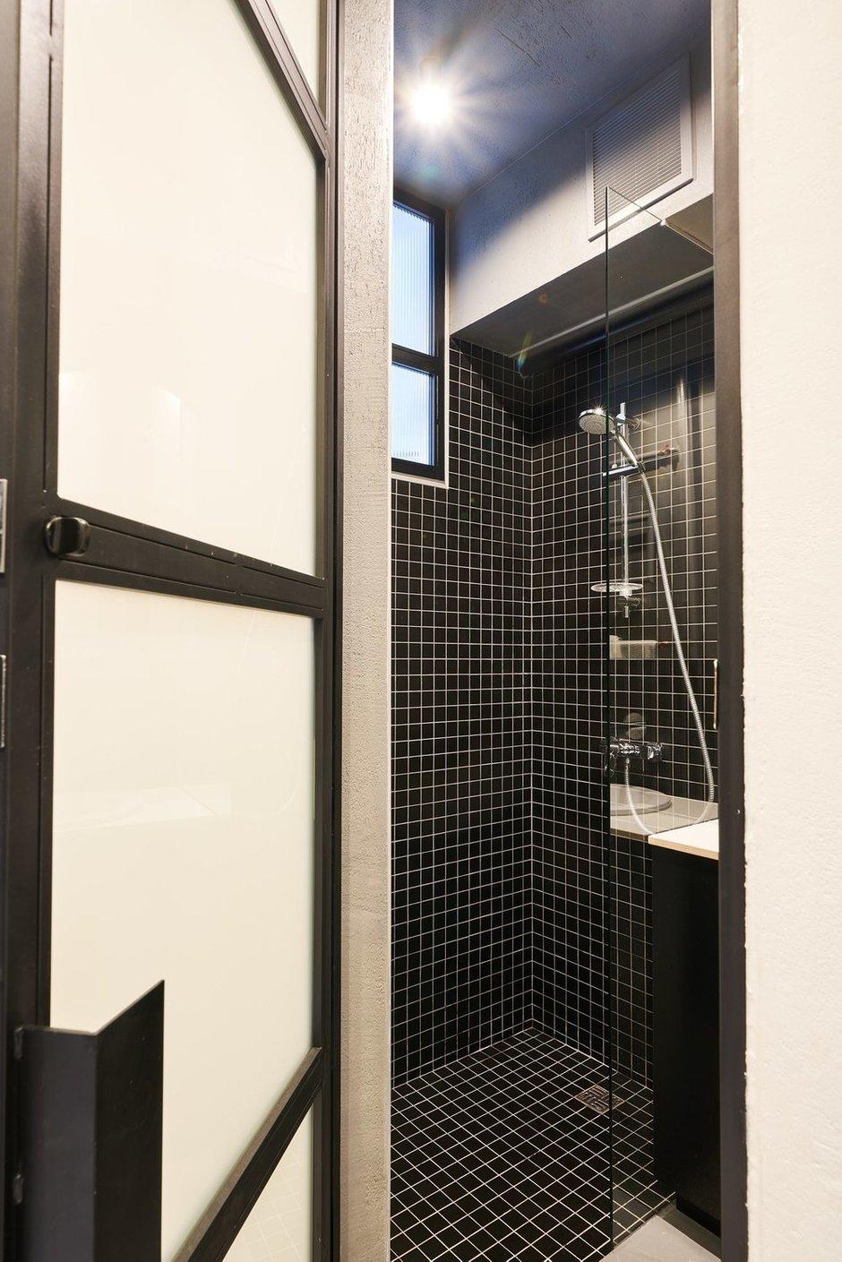 Фотография: Ванная в стиле Минимализм, Лофт, Малогабаритная квартира, Квартира, Студия, Проект недели, Калининград, до 40 метров, Line Design Studio – фото на INMYROOM