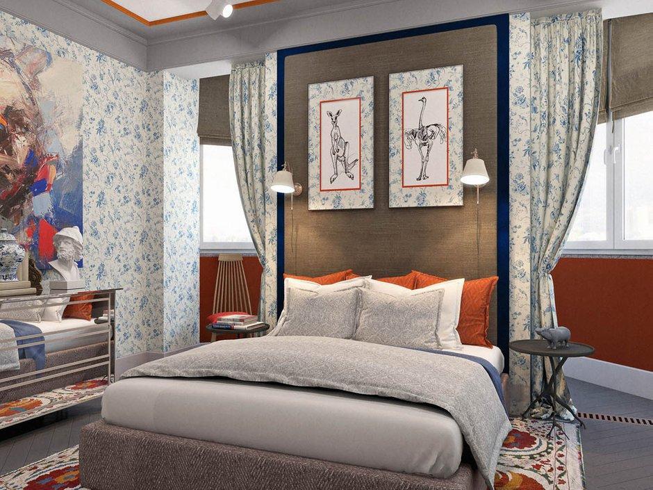 Фотография: Спальня в стиле Прованс и Кантри, Классический, Эклектика, Квартира, Проект недели – фото на INMYROOM