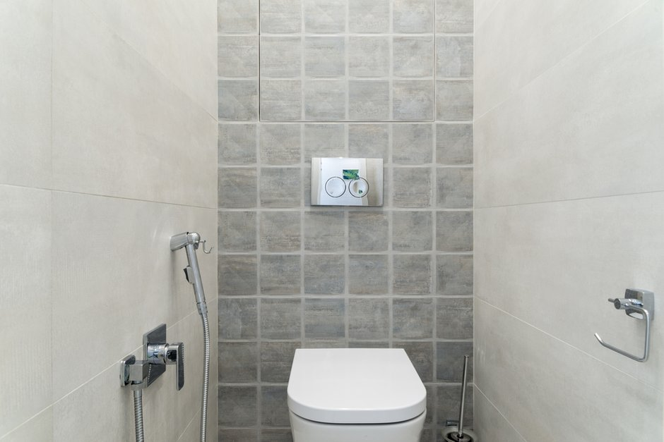Фотография: Ванная в стиле Современный, Квартира, Проект недели, Марина Саркисян, Долгопрудный, 1 комната, 40-60 метров, ПРЕМИЯ INMYROOM – фото на INMYROOM