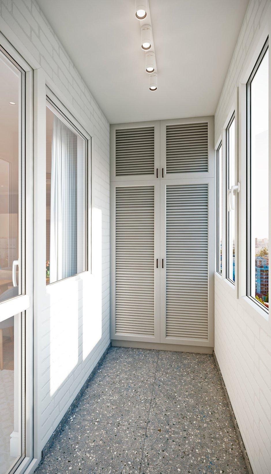 Фотография: Балкон в стиле Современный, Квартира, Проект недели, Co:Interior, Монолитный дом, 2 комнаты, 60-90 метров, Южно-Сахалинск – фото на INMYROOM