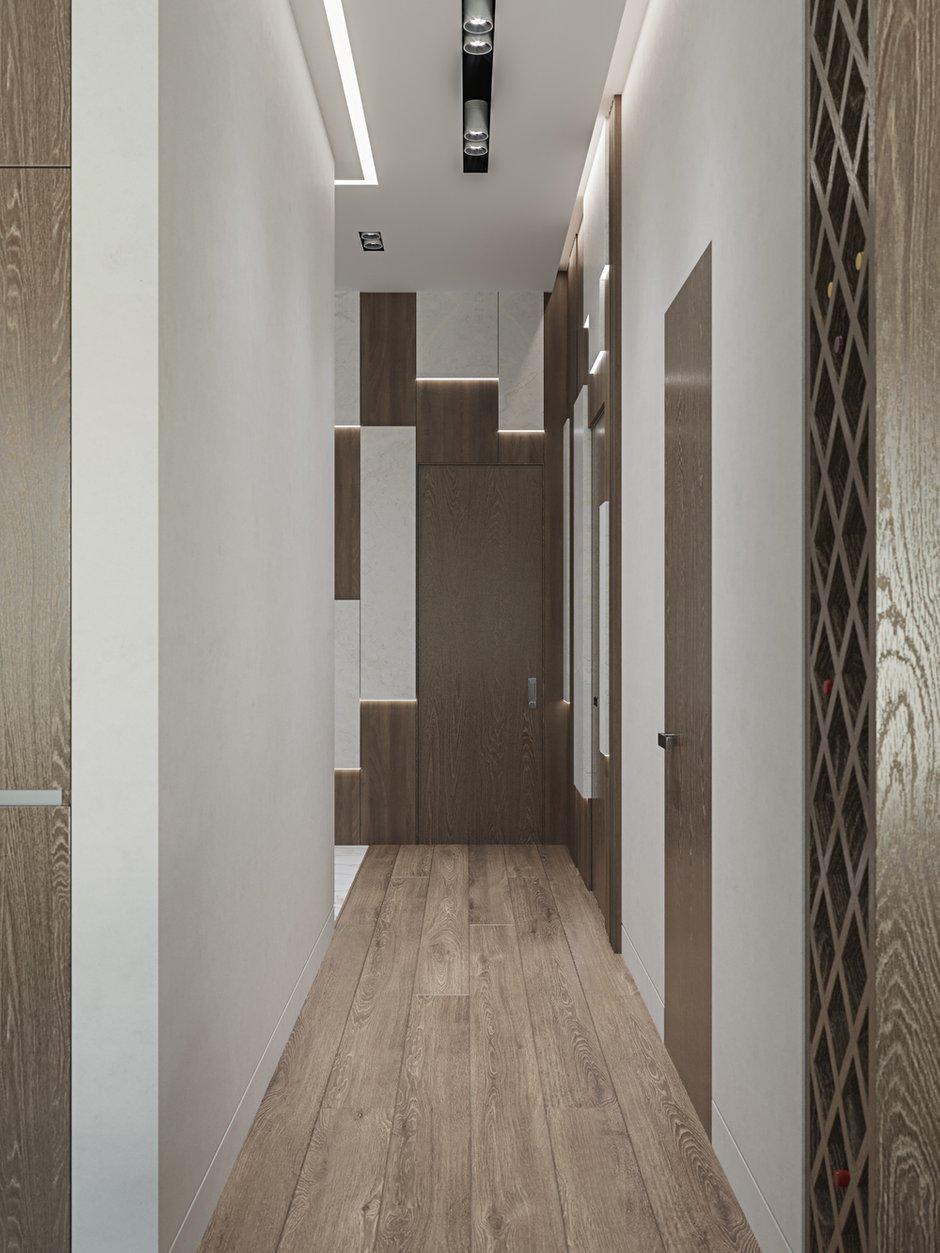 Фотография: Прихожая в стиле Современный, Квартира, Проект недели, Москва, 3 комнаты, Более 90 метров, L. DesignStudio, Анна Лях – фото на INMYROOM