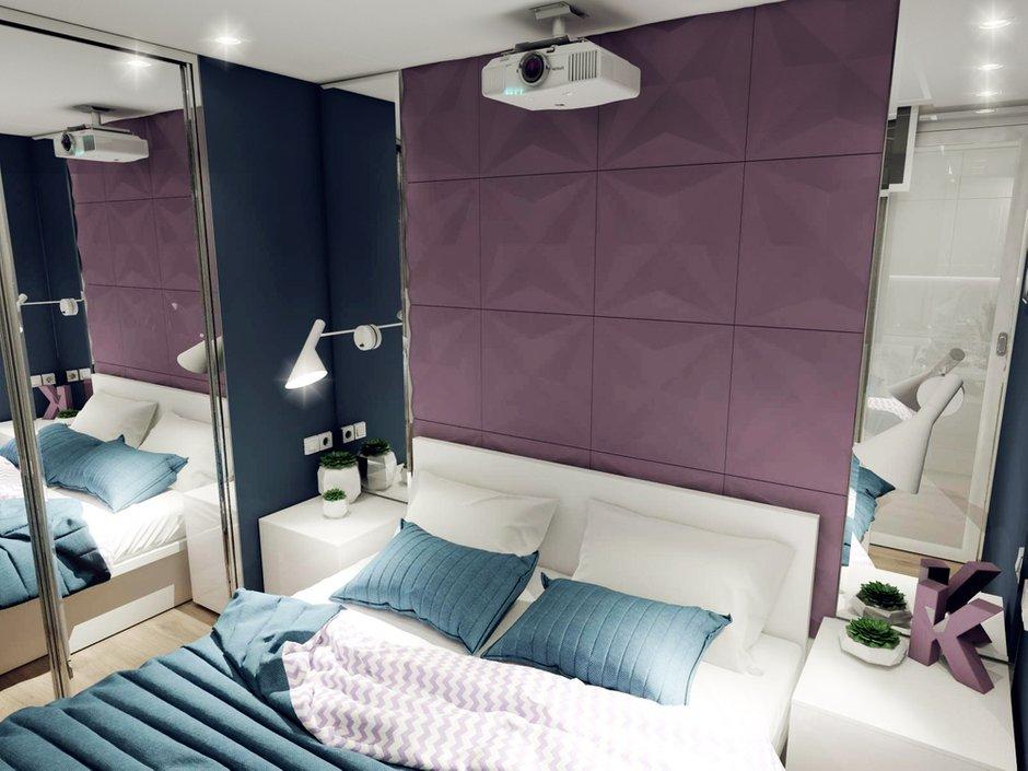 Фотография: Спальня в стиле Хай-тек, Квартира, Россия, Проект недели, Новая Москва – фото на INMYROOM
