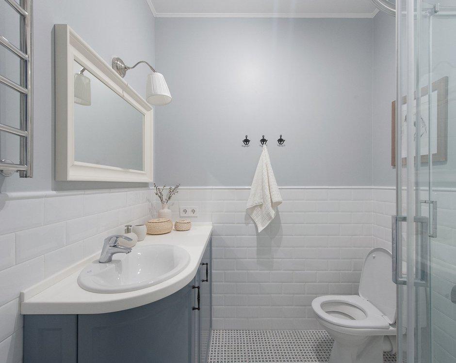 Фотография: Ванная в стиле Скандинавский, Гид – фото на INMYROOM