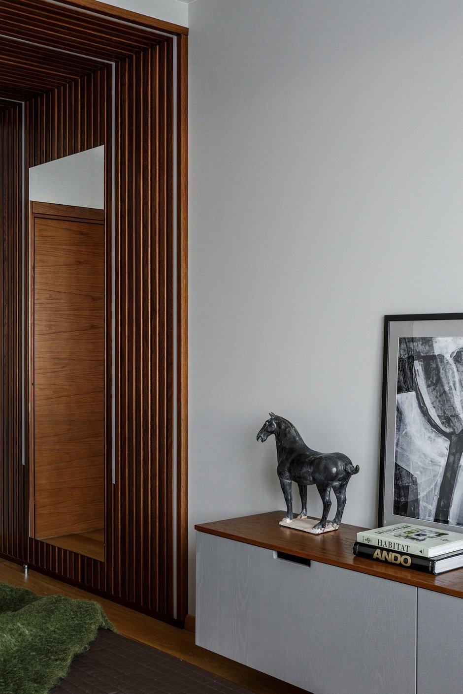 Фотография: Спальня в стиле Современный, Квартира, Проект недели, Московская область, Монолитный дом, 3 комнаты, Более 90 метров, Ксения Коновалова – фото на INMYROOM