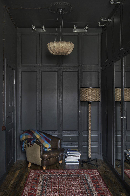 Фотография: Кабинет в стиле Эклектика, Квартира, Проект недели, Москва, 1 комната, 2 комнаты, до 40 метров, 40-60 метров, Наталия Турченко – фото на INMYROOM